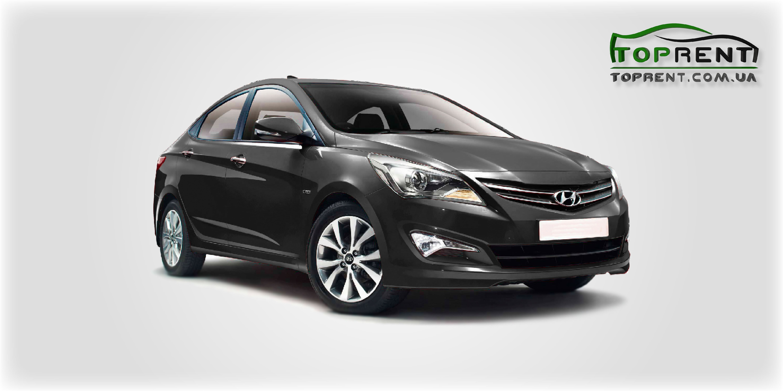 Прокат и аренда авто Hyundai Accent (Solaris) 2017 - фото 1 | TOPrent.com.ua