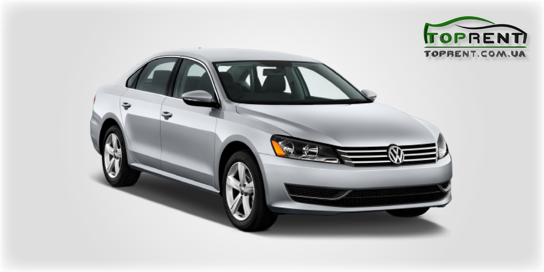 Прокат и аренда авто Volkswagen Passat B7 2015 - фото 1 | TOPrent.com.ua