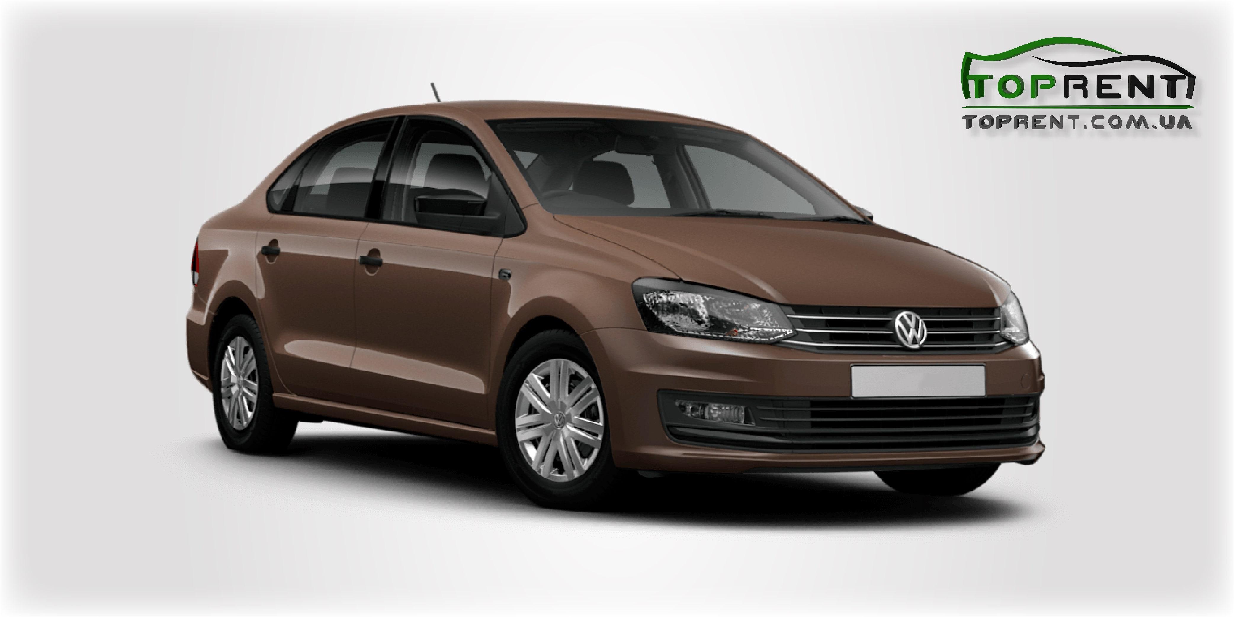 Прокат и аренда авто VW Polo sedan 2017 - фото 1   TOPrent.com.ua