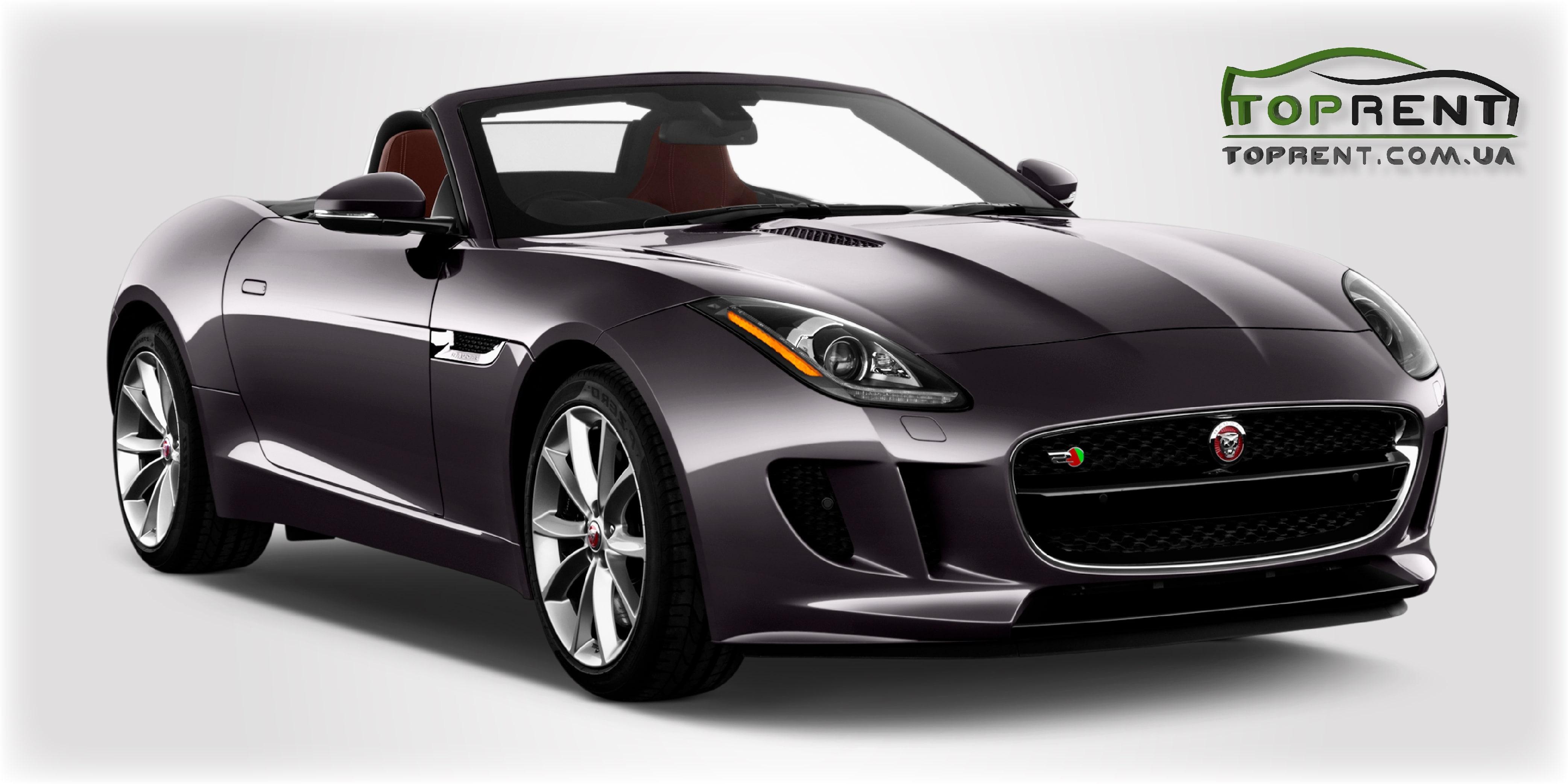 Прокат и аренда авто Jaguar F-Type V6 S Cabrio - фото 1 | TOPrent.com.ua