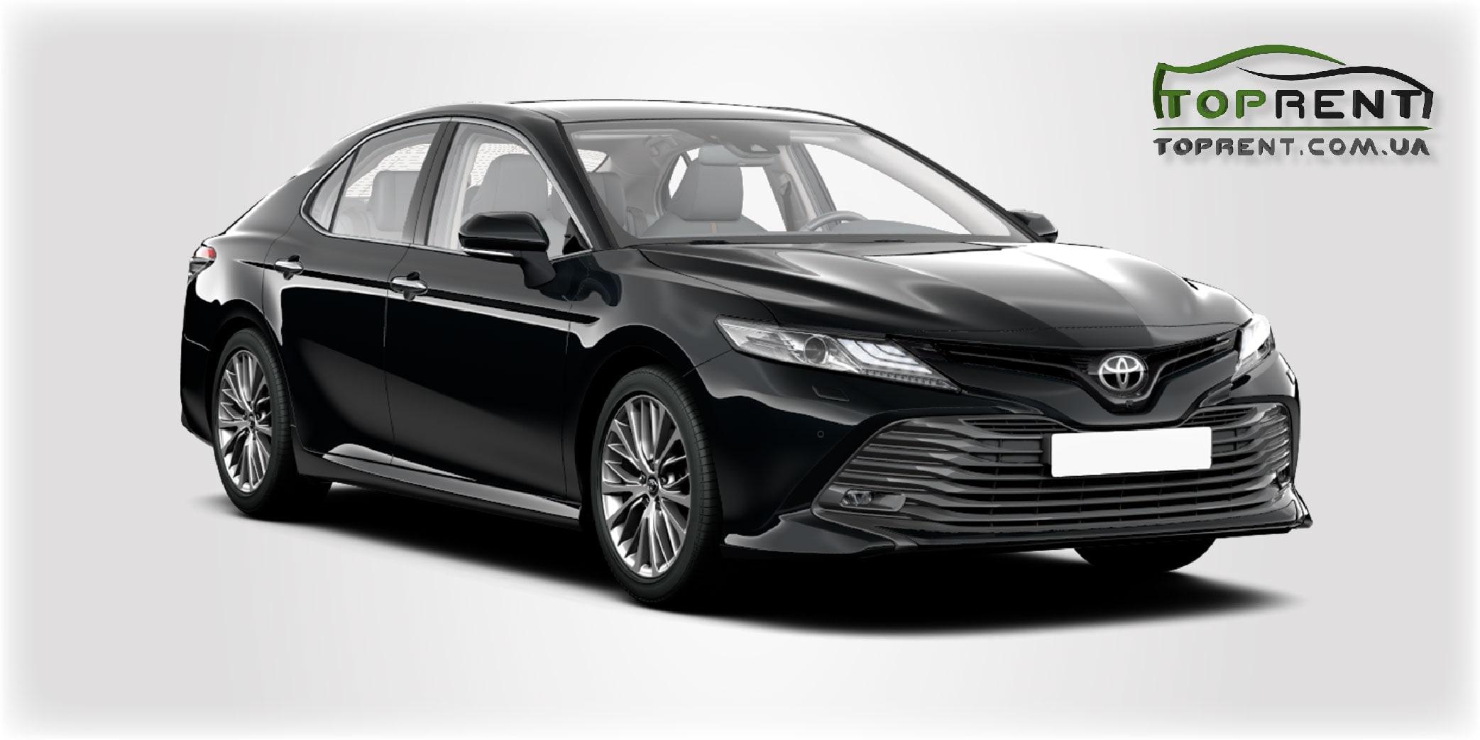 Прокат и аренда авто Toyota Camry xv70 2019 - фото 1 | TOPrent.com.ua